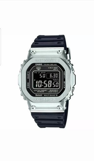 G-Shock GMW-B5000 Full Metal Connected Solar Silver Black limited edition for Sale in Manchester, CT