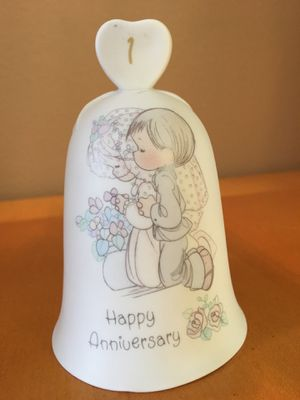 "PRECIOUS MOMENTS ""Happy Anniversary"" 1 (COLLECTIBLES) for Sale in Fairview, OR"