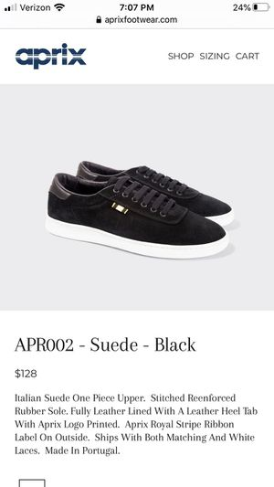 Aprix suede shoes size 43 for Sale in South Gate, CA