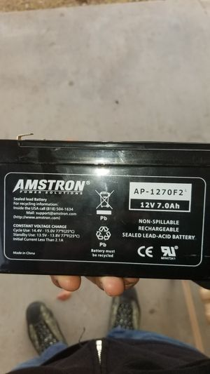 Power supply battery $10 for Sale in Fresno, CA