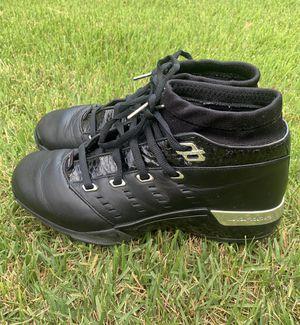 2002 Nike Air Jordan Retro XVII Low OG Black Chrome Men's Basketball Sneakers Shoes Size 10 for Sale in Laurel, MD