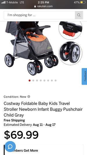 Foldable travel stroller for Sale in Corona, CA