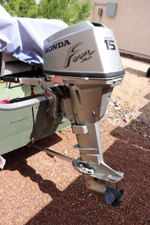 Honda Outboard Motor - 15 hp 4-stroke for Sale in Mesa, AZ