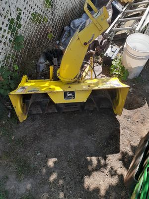 John deere snowblower attachment for Sale in Plymouth, CT