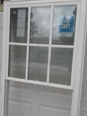 1 Style view windows and doors/ Styleview vinyl single hung Grids $85 for Sale in Powder Springs, GA
