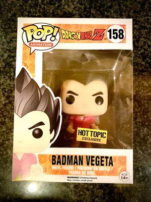 FUNKO POP BADMAN VEGETA - DRAGONBALL Z for Sale in Chicago, IL