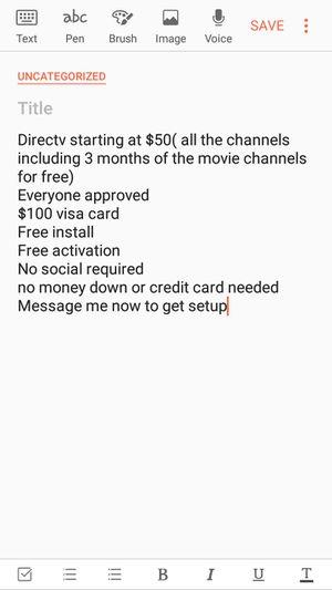 Direct TV for Sale in Detroit, MI