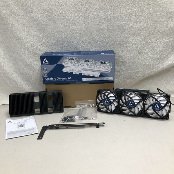 ARCTIC Accelero Xtreme IV High-End Graphics Card Cooler with Backplate