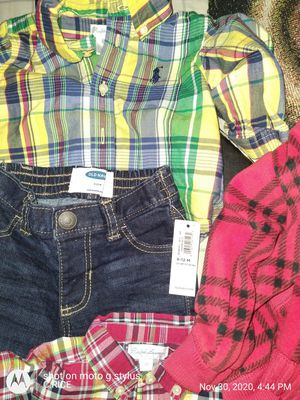 Brand new Baby out fits sum put 2gether ur convenience polo,Gap,Nike ,u name it's all name brand from 6 months to 2 years old everything $5 a piece for Sale in Baltimore, MD