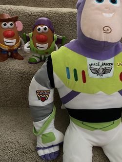 Toy Story Potato Heads And Stuffed Buzz for Sale in Alexandria,  VA