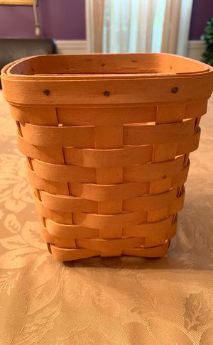Longaberger basket. for Sale in Southbury, CT