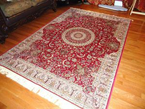 Brand new traditional silk Area Rug size 8x12 nice carpet for Sale in Fort Belvoir, VA