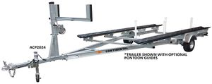 Pontoon Trailer Aluminum - 20-24' Tandem Axle - All stainless hardware - Aluminum pontoon trailer - We carry all aluminum boat trailers for Sale in Plant City, FL