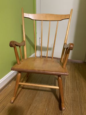 Kids Rocking Chair for Sale in Fairfax, VA