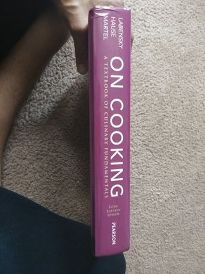 On cooking hardbook text for Sale in Baltimore, MD