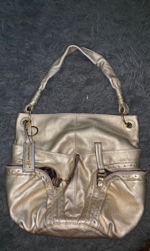 B. Makowsky Gold leather hobo for Sale in Anaheim, CA
