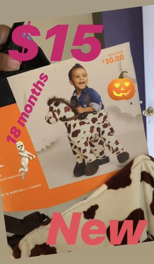 Pony Halloween costume 18 months for Sale in Bellflower, CA