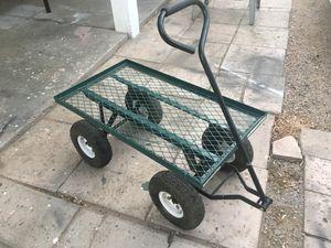Metal Carriage W/ Wheels (Read Description) for Sale in Phoenix, AZ