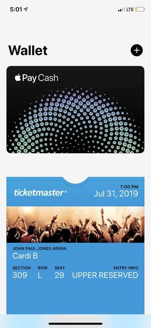 Cardi B tickets for Sale in Richmond, VA