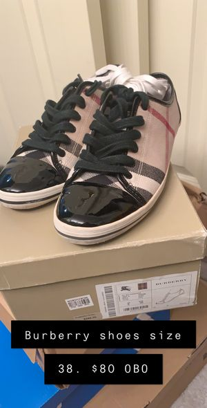 Women's Burberry shoes size 38. $80 for Sale in Everett, WA