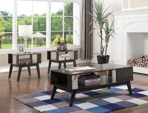 MODERN 3 PCS COFFEE TABLE SET NEW IN BOX for Sale in Austin, TX
