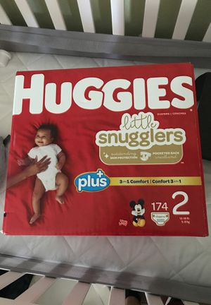 Huggies Diapers 174 count for Sale in Whittier, CA