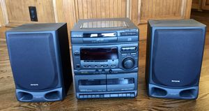 Aiwa NSX-V20 - FM/AM stereo, 3 CD changer, 2 tape deck and speakers for Sale in Wichita, KS