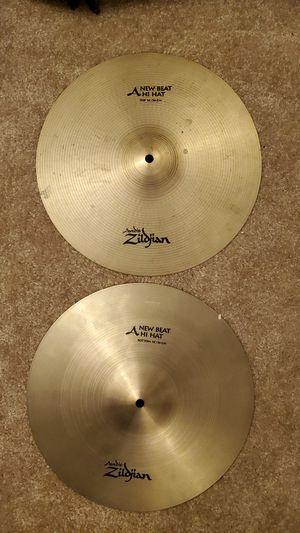 "14"" Zildjian New Beat Hi Hats for Sale in Fairfax, VA"