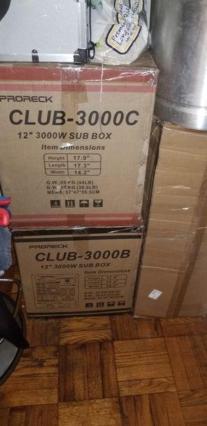 Club 3000 speakers for Sale in Newark, NJ