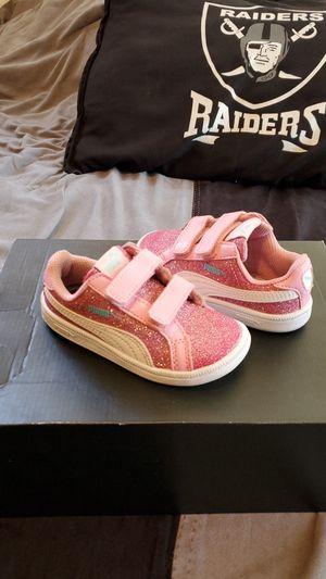 Baby Puma Liga Laceless Bedazzle Velcro for Sale in Azusa, CA