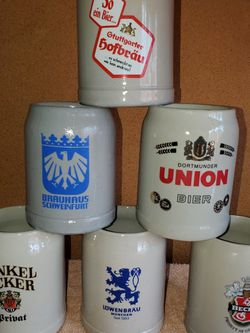 Set of 6 New Large Ceramic Bier Steins & dozens more items posted here for Sale in Kirkland,  WA