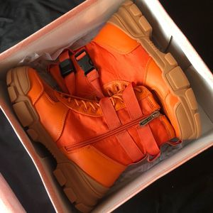 Orange boots for Sale in Monroe Township, NJ