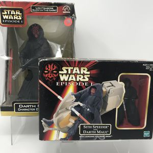 Vintage Star Wars Darth Maul Figure Bundle for Sale in Bellevue, WA