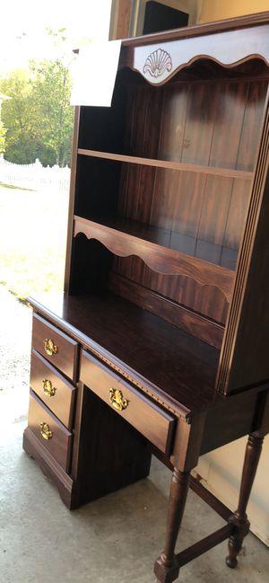 Desk with hutch for Sale in Ashburn, VA