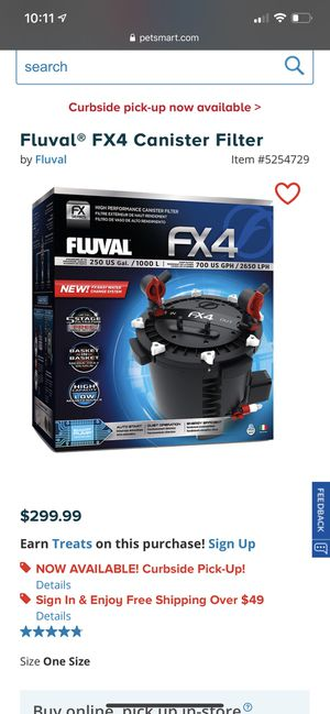 FX4 Canister Filter for Sale in Stafford, VA