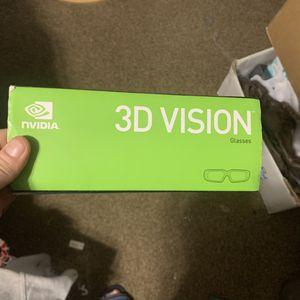 3D vision glasses online regular 175 for Sale in Abilene, TX