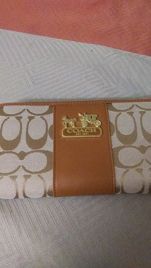 Coach wallet for Sale in Coppell, TX