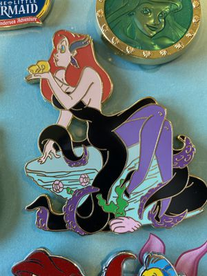Disney Jessica as Ursula pin for Sale in Galt, CA