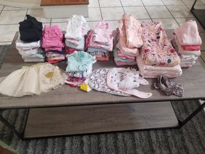 Baby girl Bundle 0-6months for Sale in Lake View Terrace, CA