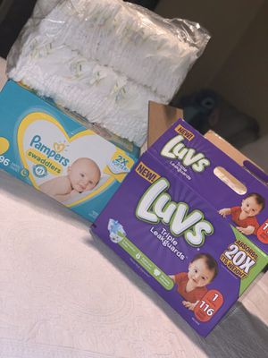 DIAPERS FOR THE LOW for Sale in Downey, CA