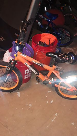 Kids 3- higher Mongoose bicycle for Sale in Lake Elsinore, CA