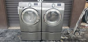 SAMSUNG WASHER AND DRYER SET WITH DRAWERS for Sale in Miami, FL