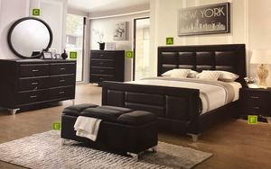 Bedroom set five piece finance available for Sale in Garland, TX