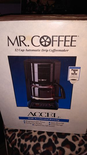 Mr.Coffee Accell Programmable Coffee Maker for Sale in Lake Alfred, FL