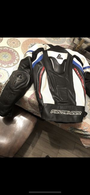 Leather jacket for motorcycle riders for Sale in San Jose, CA