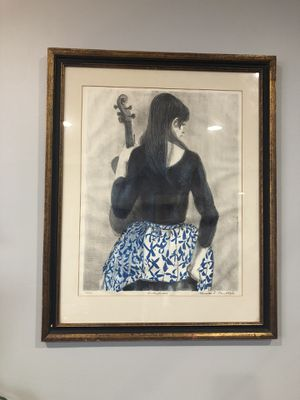 Lady with a violin for Sale in Philadelphia, PA