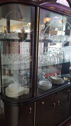 Wine glasses, plates, cups for Sale in Alexandria, VA