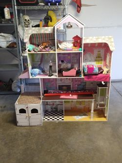 Dollhouse 58 Tall And 52 Wide It'sgood Conditions for Sale in Stockton,  CA