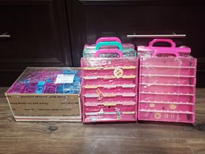 Shopkins lot cased and baskets for Sale in Garden Grove, CA