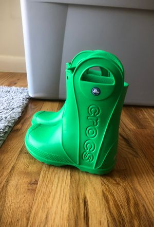 Kids Croc Rain Boots for Sale in New York, NY